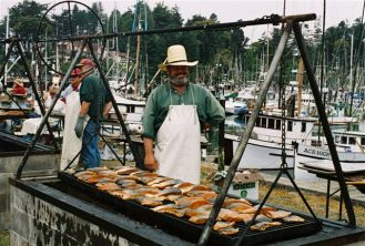 worlds largest salmon bbq